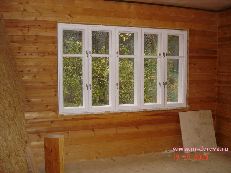 Дачные деревянные окна своими руками 99